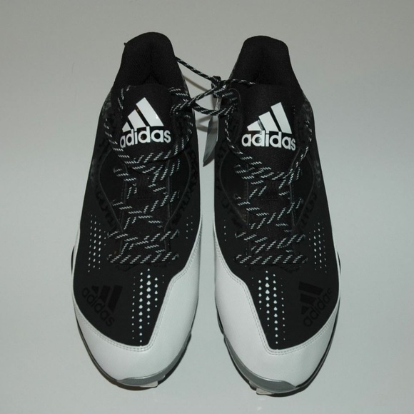 newest collection 08a15 5bb7e Adidas Power Alley 4 low Mens Metal Baseball Cleat